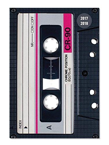 Collegetimer Tape 2017/2018 - Schülerkalender A5 - Day By Day - 352 Seiten