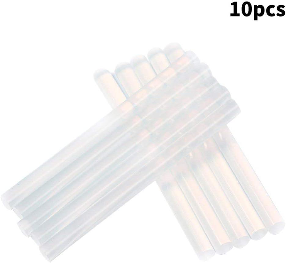10pcs//lot 7mm x 100mm colle chaude b/âtons de colle colle pistolet artisanal album outils de r/éparation pour le bricolage manuel de r/éparation de jouets