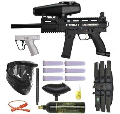 Tippmann X7 Phenom Mechanical Paintball Marker Gun 3Skull Super Mega Set