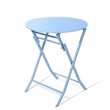 Table De Manger Zhirong Se Carrée FerÀ Pliante D'art vwOmNn08