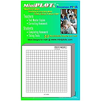 Amazon.Com : Quadra Plot-Graph Paper Pads: 5 Pads Of 3X3 Inch