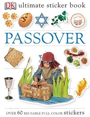 Ultimate Sticker Book: Passover: Over 60 Reusable Full-Color - Sticker Passover