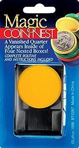 "Empire Magic Quarter Coin Nest 2pc 2.75"" Close-Up Magic Trick"