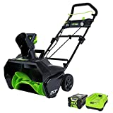 "Greenworks Pro 80V 20"" Snow Thrower w/2Ah Battery & Charger"