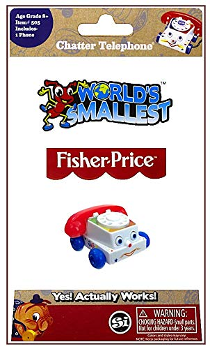 Worlds Smallest Chatter Telephone