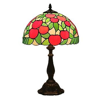Lámpara de mesa - del estilo de Tiffany de cristal ...