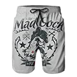 ZAPAGE The Mad Cock Boys Quick Dry Boardshorts Printed Home Shorts With Pocket
