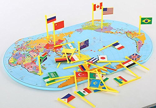 Amazon new arrival wooden geography world map flags inserted amazon new arrival wooden geography world map flags inserted flag creative baby educational toy for children baby gumiabroncs Images
