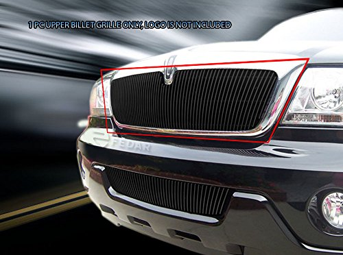 Lincoln Aviator Billet - Fedar Mian Upper Overlay Billet Grille Insert for compatible with 2003-2005 Lincoln Aviator