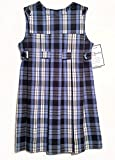 Becky Thatcher School Uniform Jumper (Model 78) Blue Plaid (Color 76)