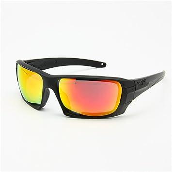 Nos Terrian, 4 lentes polarizadas Gafas Gafas con Logo original, táctica militar ejército Eyeshield