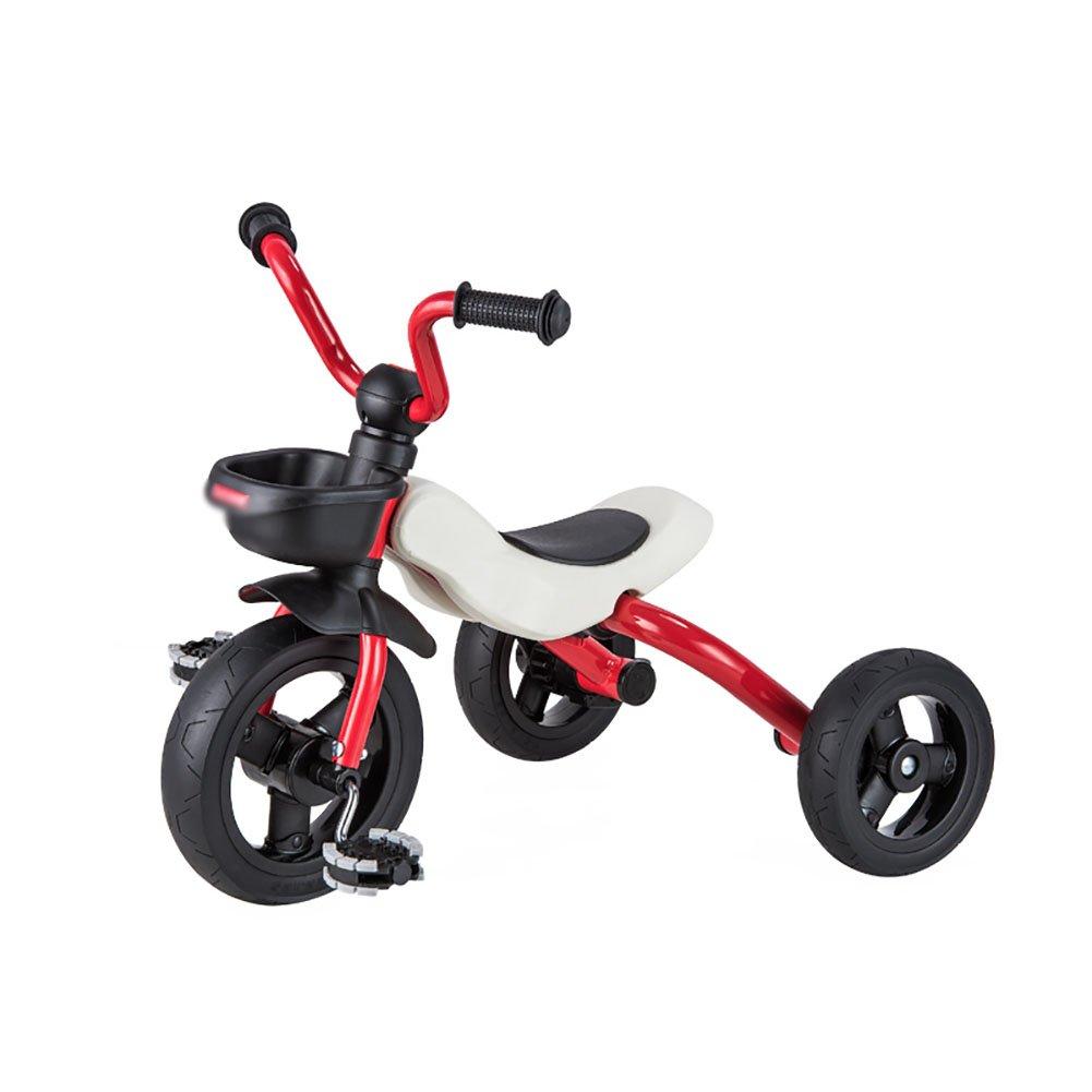 precio razonable rojo Triciclos WSSF WSSF WSSF Niños Plegable 3 Wheeler Pedaleo Ride-On Bike Inflable 3-6 Años de Edad Trike Kids Bicycle, 63  45  53cm  alto descuento