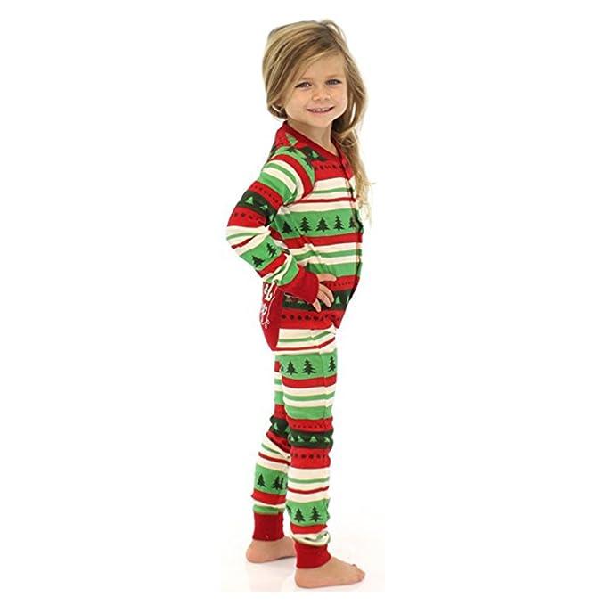 MEIHAOWEI Familia de Navidad Set pijama mono-pieza pijamas: Amazon.es: Ropa y accesorios