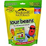 YumEarth Naturals, Sour Jelly Beans, 10 Snack Packs, 20 g Each (2 Pack)