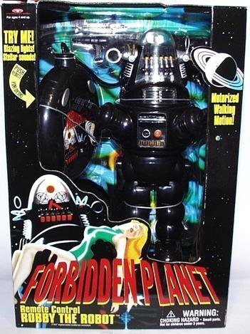 Forbidden Planet Remote Control Robby the Robot with Blazing Lights and Sounds ()