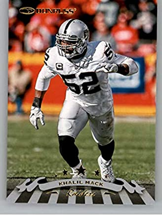 78940dfede1 2018 Donruss 1998 Tribute Football  13 Khalil Mack Oakland Raiders Official  NFL Trading Card