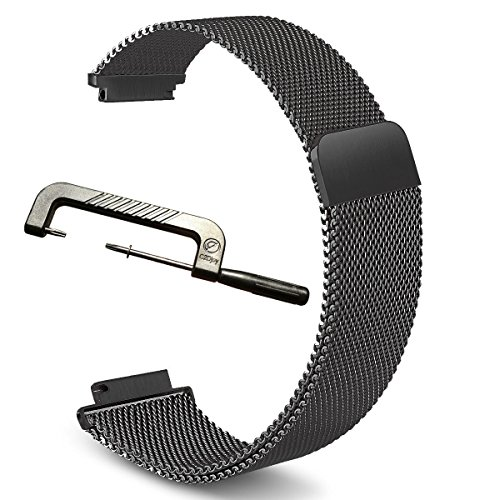 Garmin Replacement Band C2DJOY Stainless Steel Magnetic Milanese Fitness Watch Band