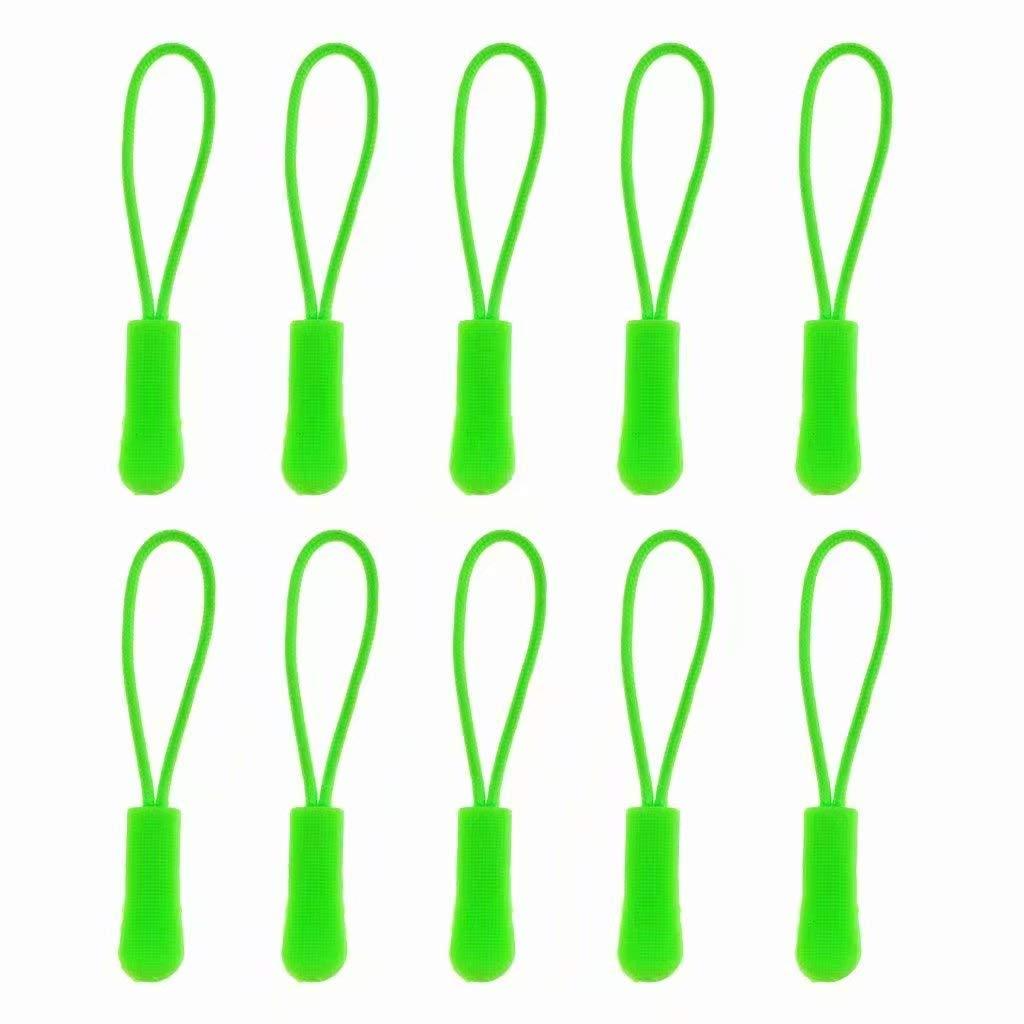 Orange 10/pcs Fermeture /Éclair Cordon de balises /à partir Fermeture /Éclair extension Zip Slider de remplacement 1