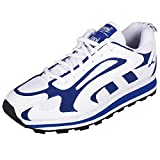 Lakhani Men's White & Cobalt Blue Synthetic Running Sports Shoes 7