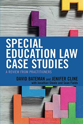 Special Education Law Case Studies (Special Education Law)