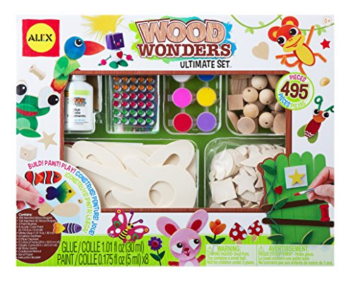 ALEX Toys Craft Wood Wonders Ultimate Set (Alex Toys Sand)