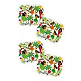 Hawaii Party Favors Hula Girl Mints in Rectangle Tins 20 Pack