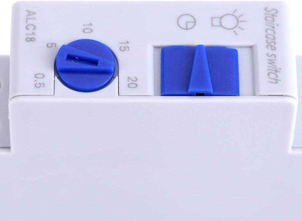 Corriente Grande Inteligente por Microordenador 88 x 54 x 42 mm Interruptor de Temporizador Electr/ónico KG316T-III Interruptor de Temporizador de 220 VCA y 30 A