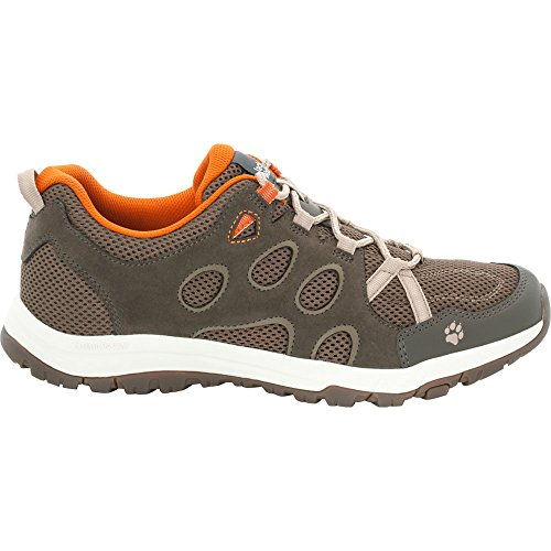 Jack Wolfskin Herren Leichtwanderschuhe Rocksand Chill Low dark orange