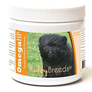 Healthy Breeds Omega HP Fish Oil Skin & Coat Supplement Soft Chews - Over 200 Breeds - Vet Recommended Formula Based on Breed - Helps Reduce Shedding 44