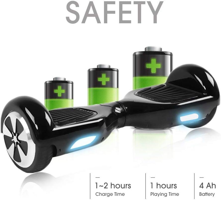 Scooter el/éctrico Self-Balance Windgoo Hoverboard 6.5 Balance Board Patinete El/éctrico Scooter Talla LED
