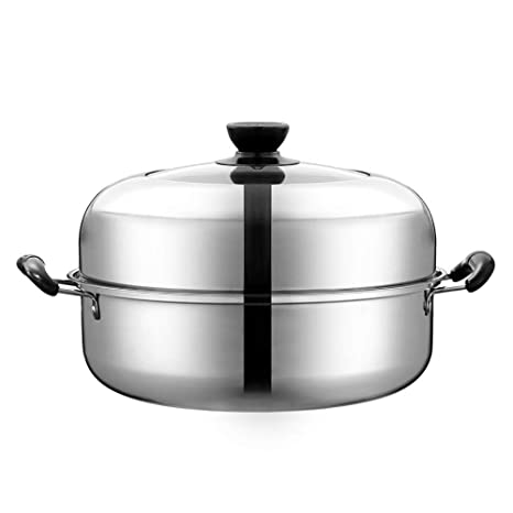 Wyyggnb Vaporizadores for cocinar, Cacerola de Acero ...