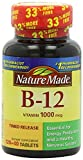 Cheap Nature Made Vitamin B-12 Timed Release Tablets, Value Size, 1000 Mcg, 640 Count Pack (9w33vz) Nature-4pi6