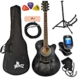 WINZZ 40 Inches Cutaway Acoustic Guitar Beginner