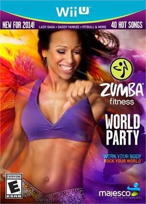 Majesco Zumba Fitness World Party (Game ONLY) - Nintendo Wii U (Zumba World Party)
