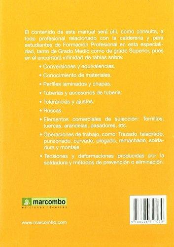 Manual del Calderero: Amazon.es: MARÍA DEL CARMEN RODRÍGUEZ ESPIÑEIRA: Libros