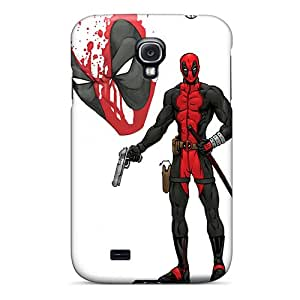 linJUN FENGYKCycvc8092LZxDD Anti-scratch Case Cover Jeffrehing Protective Deadpool I4 Case For Galaxy S4