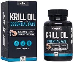 ONNIT Antarctic Krill Oil - 1000mg Per S...