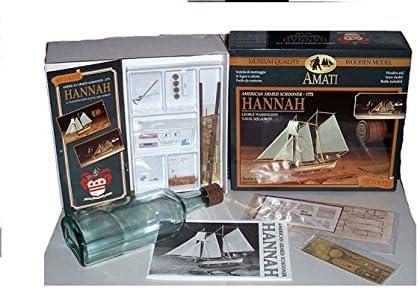 1355 Kit Amati maquette de bateau dans une bouteille Hanna