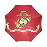 New Year Gifts/Thanksgiving Day USMC United States Marine Corps 100% Fabric And Aluminium High-quality Umbrella