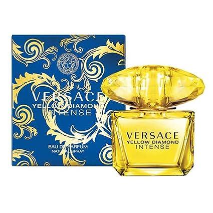 Diamond Vaporizador 90 De Ml Yellow Perfume Agua Versace Intense 80nOPXwNk