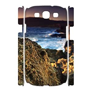 3D Coral Rock Samsung Galaxy S3 Cases, Samsung Galaxy S 3 Cases Funny Cute Jackalondon - White