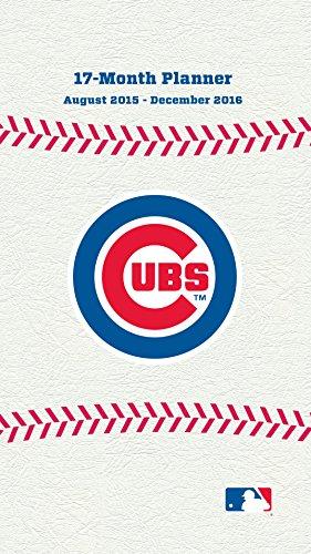 Turner Chicago Cubs 17 Month Planner, August 2015 - December 2016, 3.5 x 5' (8890569)