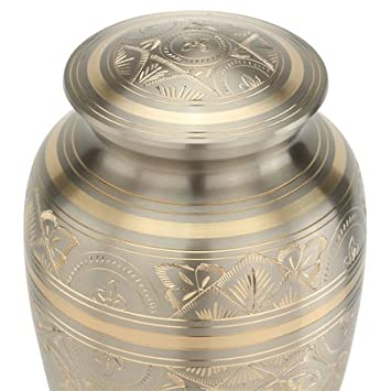 Silverlight Urns Platinum Elegance Urn for Ashes