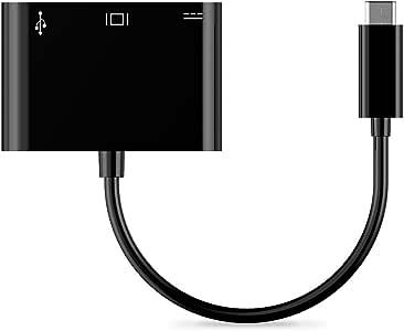 VicTsing Type C USB 3.1 Hub USB-C to USB 3.0/ HDMI/Type C Female Charger Adapter for Google Chromebook Pixel 2015