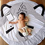 Littleice Cotton Carpet Baby Kids Game Gym Activity Carpet Europe Eco-Friendly Play Mat Crawling Blanket Floor Rug