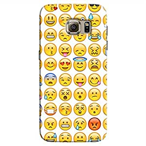Cover It Up - Smileys Stickers Galaxy S7Hard Case
