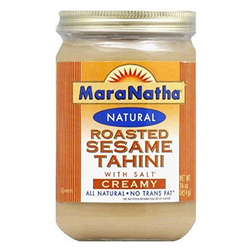 SESAME TAHINI, ROASTED , Pack of 6 by MARNAT