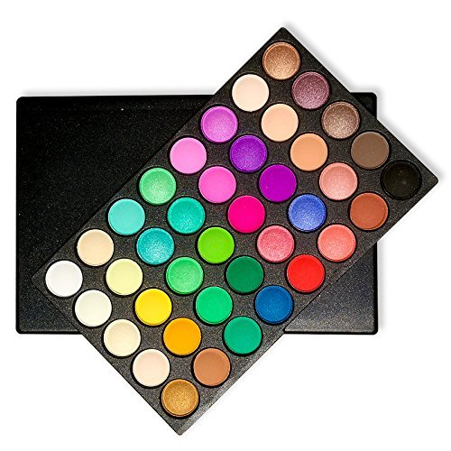 Eyeshadow Palette, Ambito Professional Makeup 120 Colours Cosmetics Set 2017 New Eye Shadow Makeup Palette includes Matte and Shimmer Eye Shadows by AMBITO (Image #2)