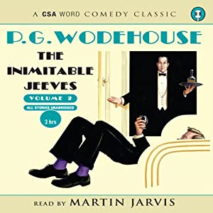 The Inimitable Jeeves, Volume 2 Audiobook