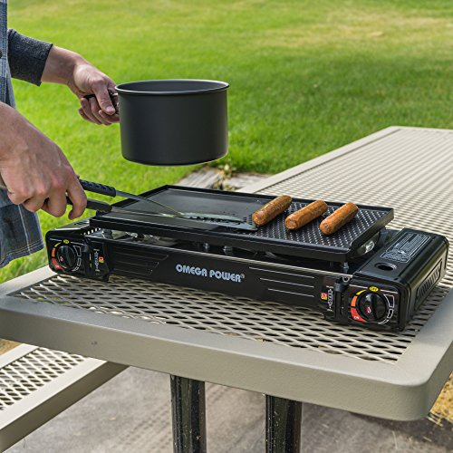 Portable Camping Stove and Grill Leaderware